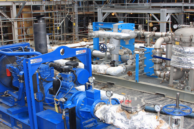 Chemical cleaning for Baker Hughes